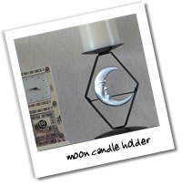 Metalcraft Gallery - Moon Candle Holder