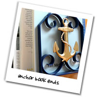 Metalcraft Gallery - Anchor Book Ends