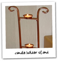 Metalcraft Gallery - Candle Holder